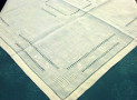 Table Topper in ivory colour