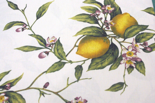 Printed Tablecloth Lemon