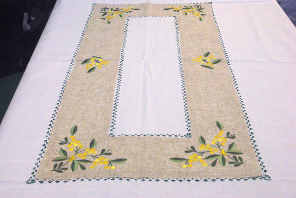Round tablecloth 72""