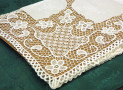 """TABLE-CLOTH 72"""" X 108"""" PURE LINEN"""