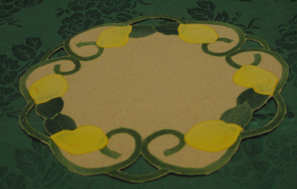 Lemon Doilies