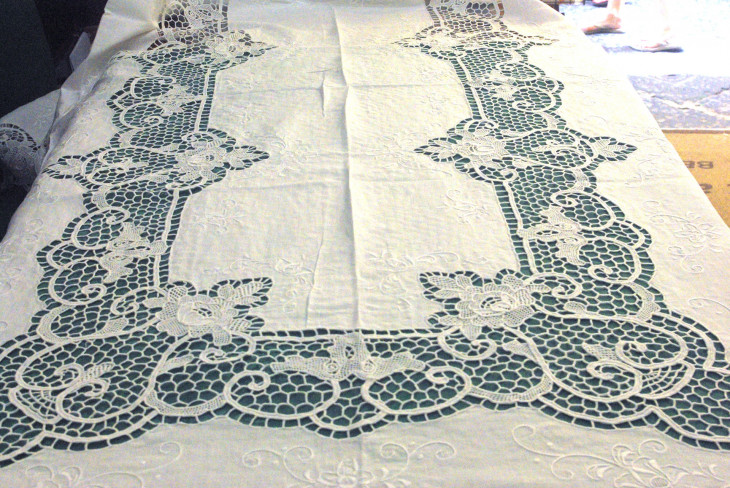 Tablecloth in Pure Linen